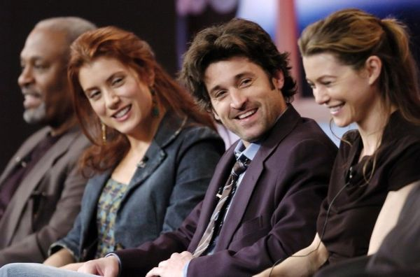 James Pickens Jr (Richard Webber), Kate Walsh (Addison ...