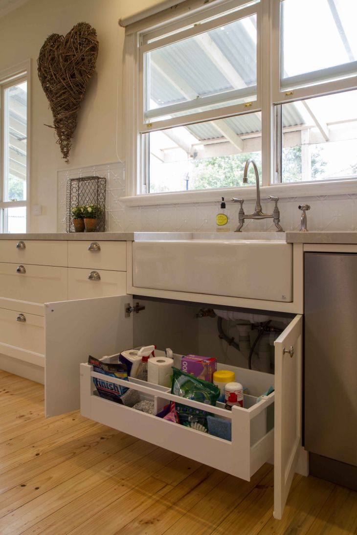 Drawer under sink Kitchen Cabinetry Pinterest Pantry Sinks