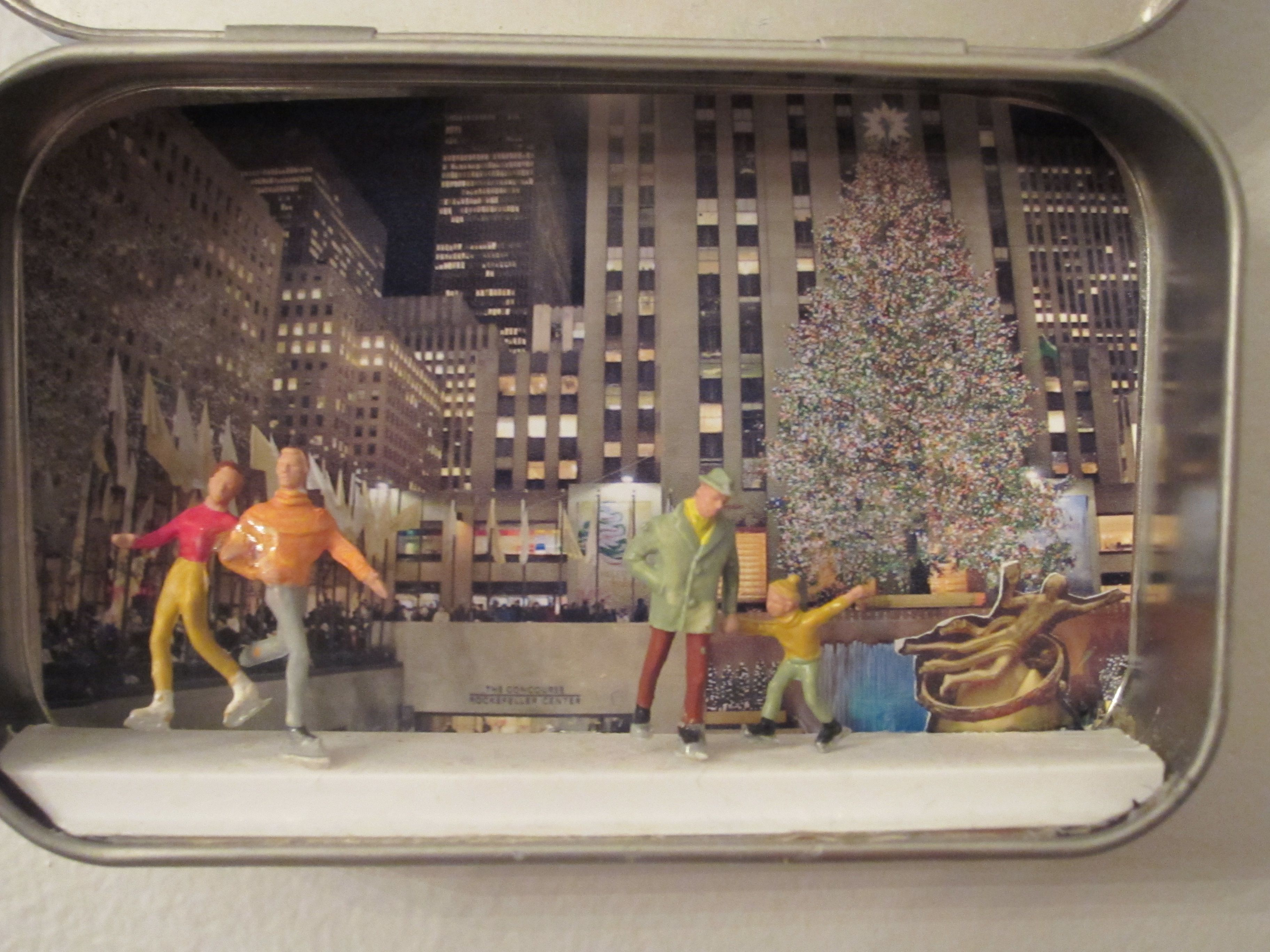 Altoid Box Christmas Diorama Google Search Christmas