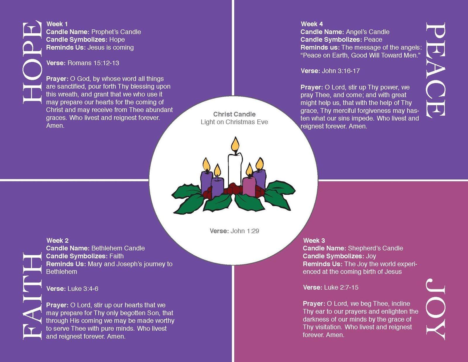Best 25 Advent Wreath Prayers Ideas
