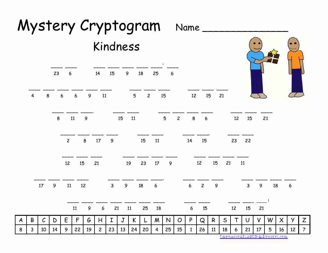 Cryptograms Word Puzzles Printable