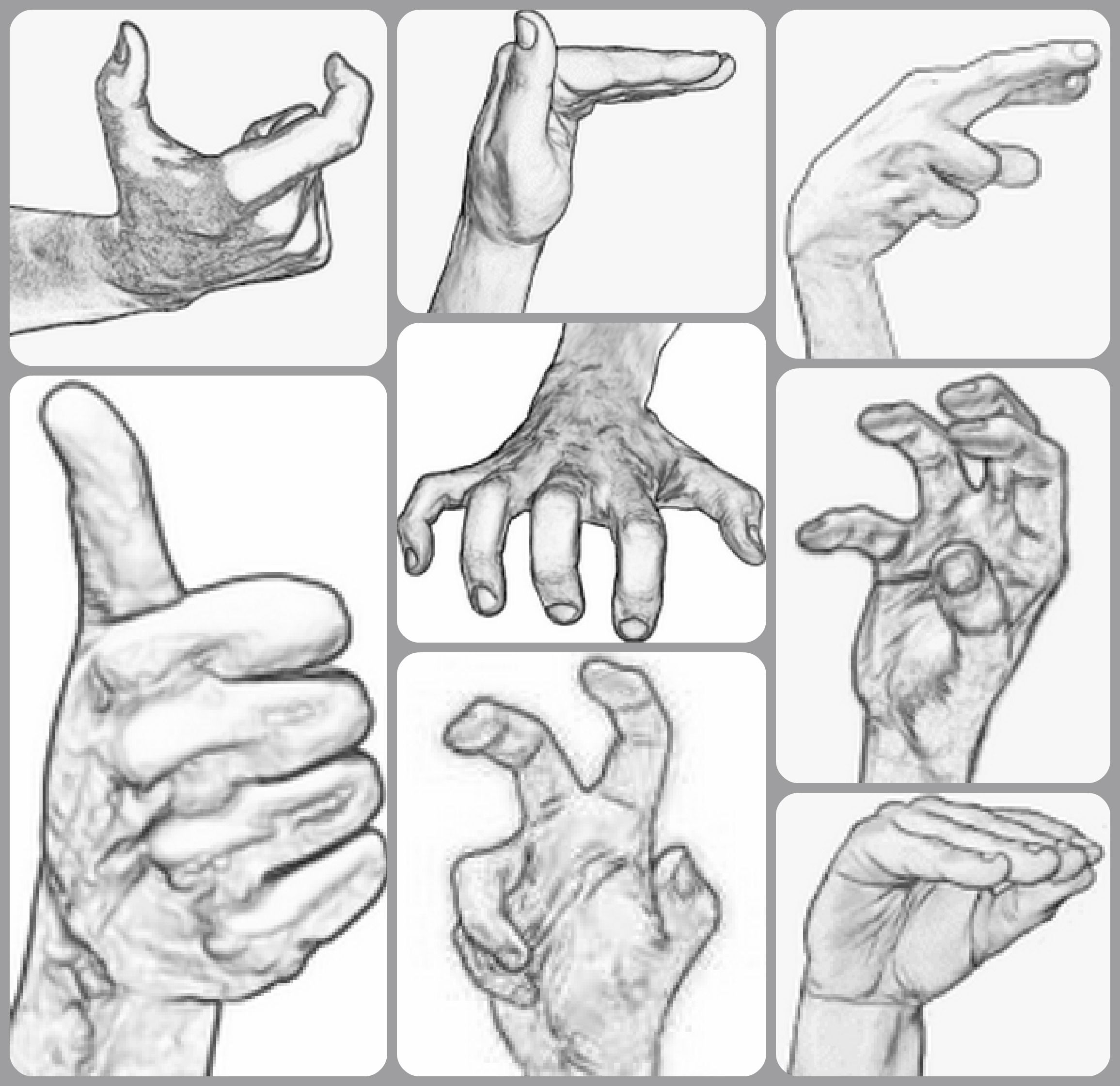 The Core Handshapes Of Asl The Basis Of Many Signed Words