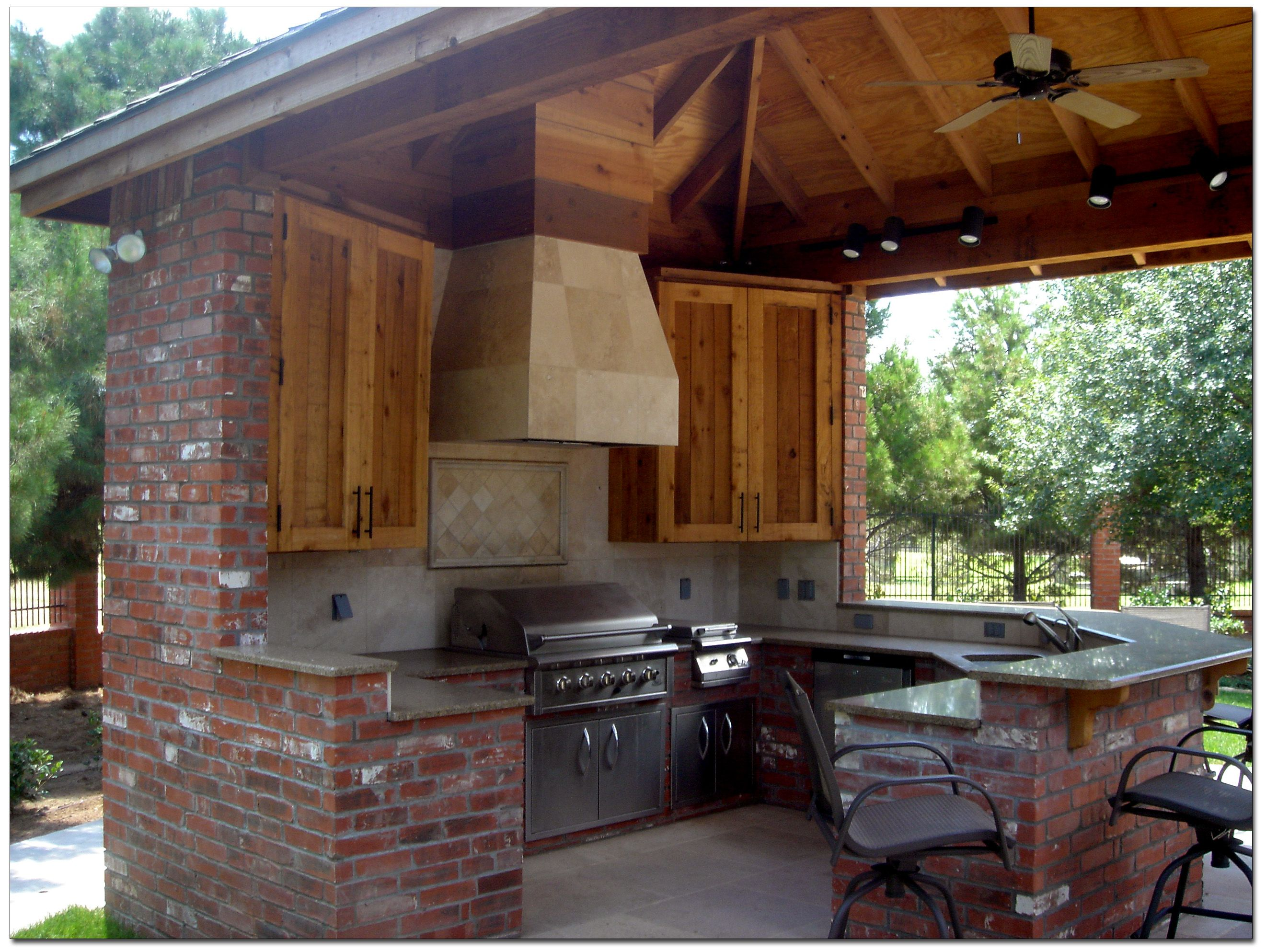 outdoor kitchens and pool designs outdoor kitchen backyard pinterest pool designs on outdoor kitchen plans layout id=92994