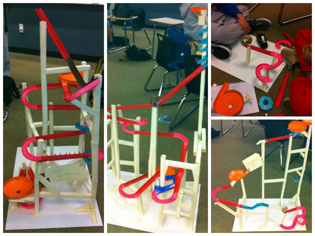 My Students Built Roller Coasters To Investigate Physics Principles Their Projects Were So Cool