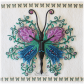 Lady butterfly cookiesdecorated pinterest