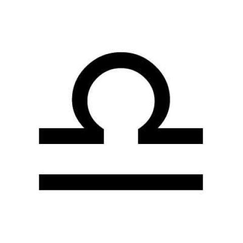 Image result for libra zodiac symbol