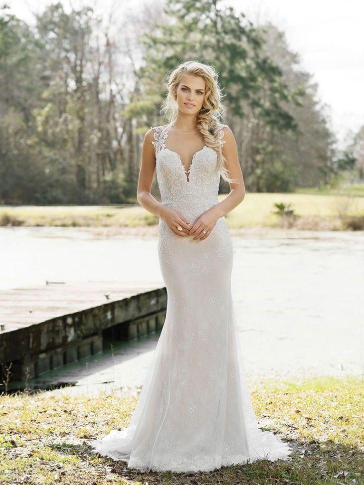 Lillian West Spring BohoChic Wedding Dresses Lillian west
