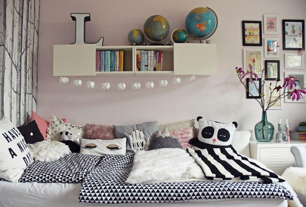 teenager mädchen zimmer - teen room makeover Zimmer mädchen, Kinderzimmer und Jugendzimmer