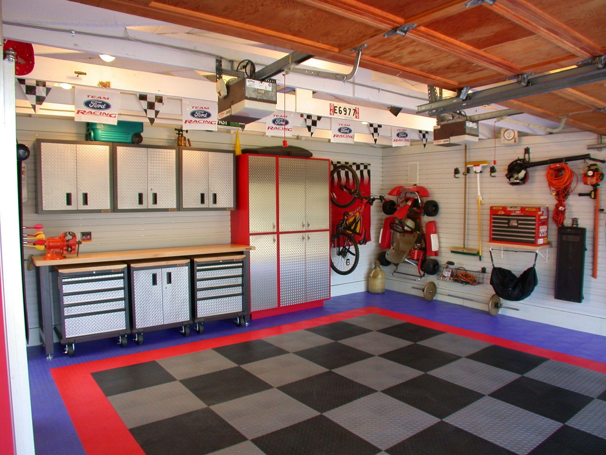 Cool Garage By Custom Kitchens Dream Garage Ideas