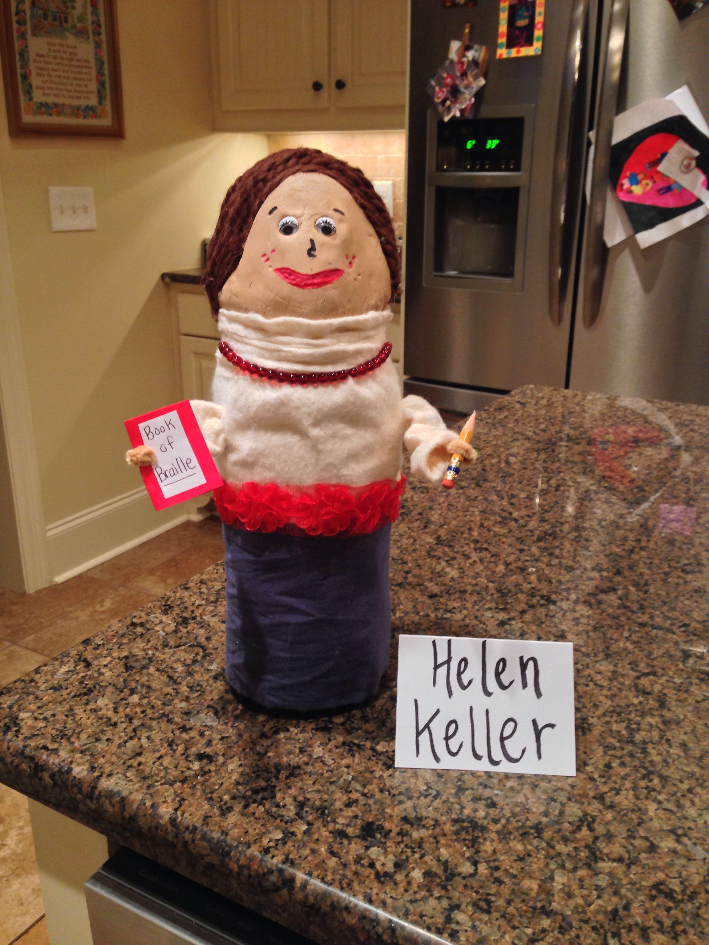 Helen Keller Kelli S 3rd Grade Famous American School