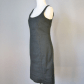 Zara basics little black dress size l tank dress tank dress zara