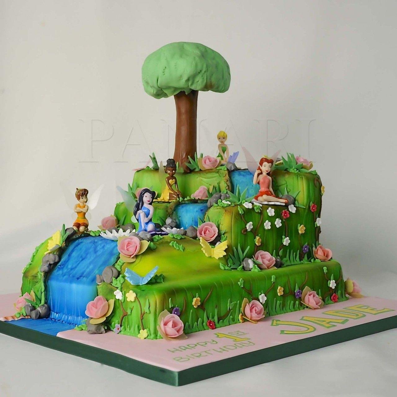 Tinkerbells Enchanted Forest Cake Ci Panari Cakes
