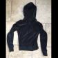 Express hoodie black velour zip up hoods sweatshirt and hoodie