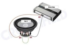 Subwoofer wiring diagrams | Car audio, Audio and Cars
