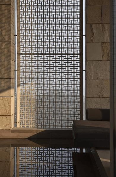Contemporary Mashrabiya Screen Islamic Inspirations Pinterest Screens Architecture And