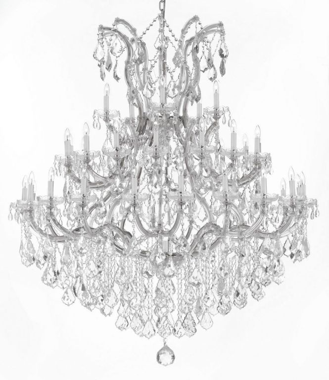 Large Foyer Entryway Maria Theresa Empress Crystal Tm Chandelier Lighting H W