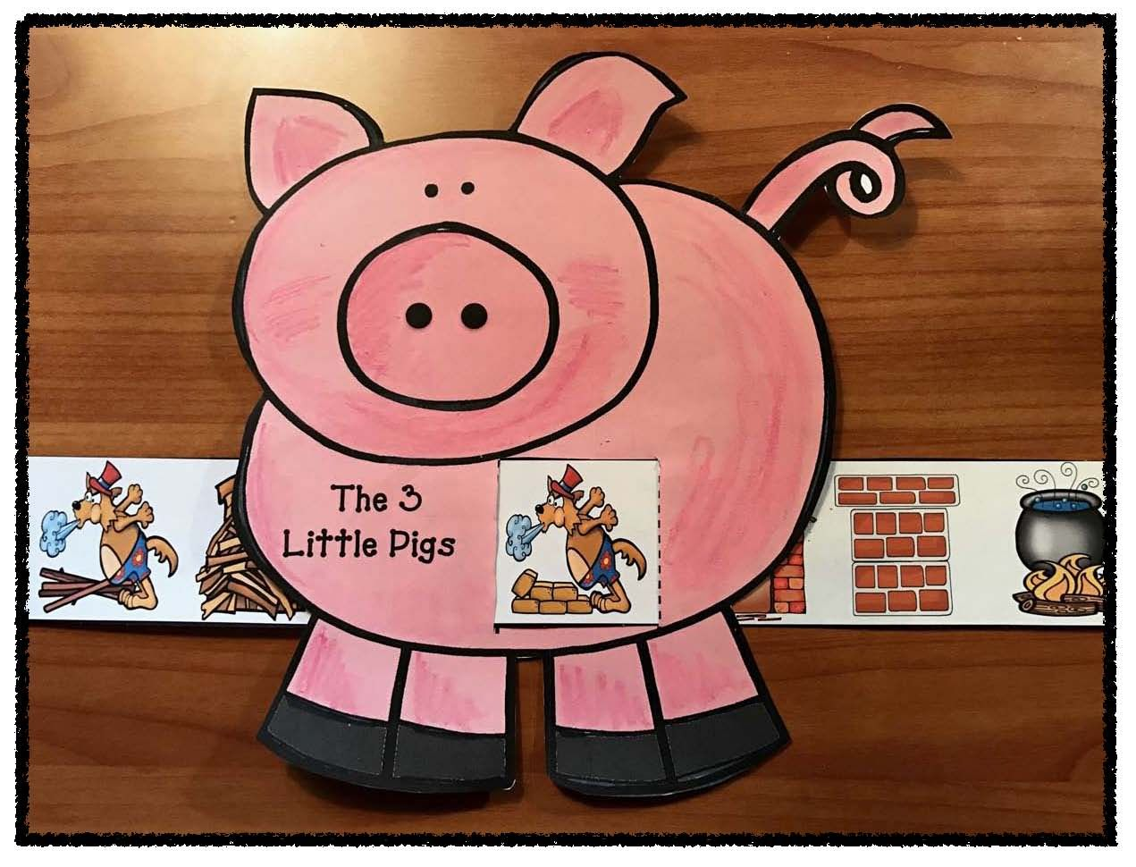 Reading Sequence Amp Retell The Story The 3 Little Pigs