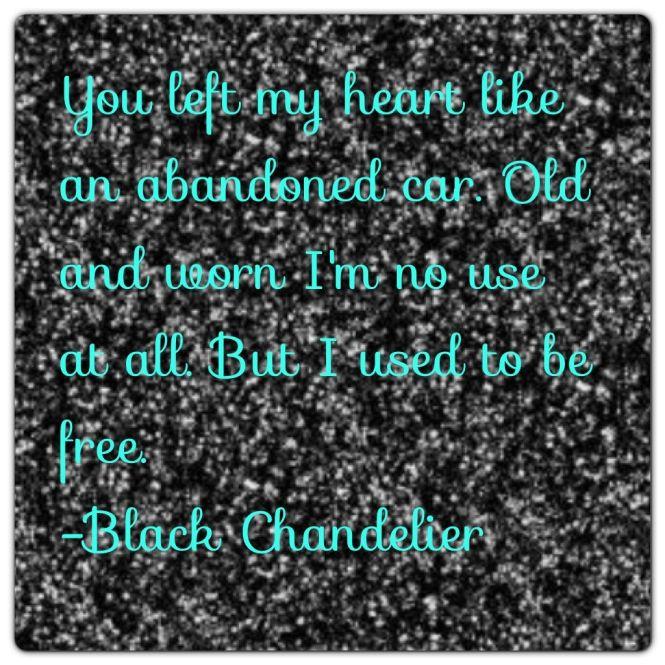Black Chandelier By Biffy Clyro