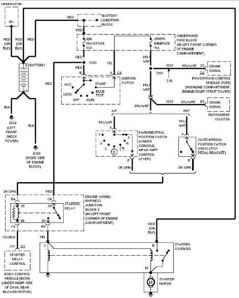headlight switch wiring diagram 2000 intrepid