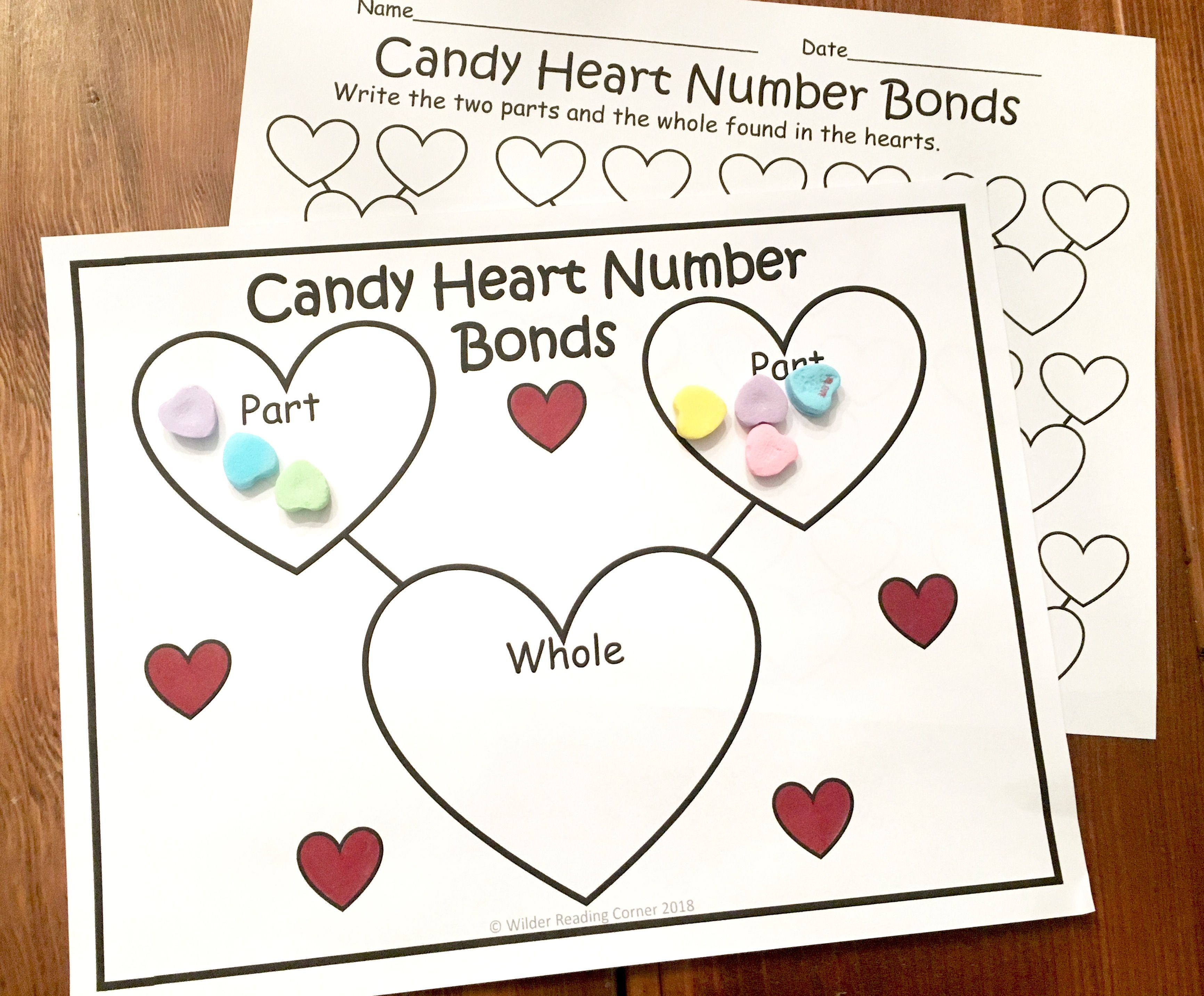 Valentine S Day Composing Kindergarten Math Center Candy