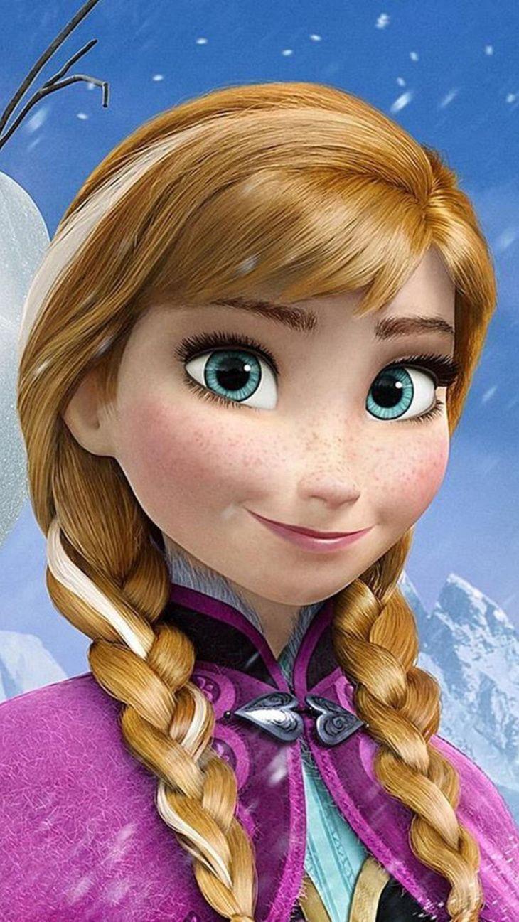 So Cute Princess Anna Christmas Frozen IPhone Plus Wallpaper