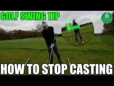 GOLF SWING TIP     HOW TO STOP CASTING IN YOUR SWING     Golf Bunker     In this video we look at the angles created in the golf swing and the  effects of loosing them
