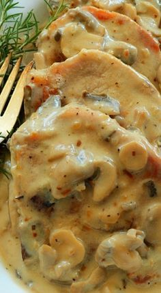 Easy Cream of Mushroom Pork Chops
