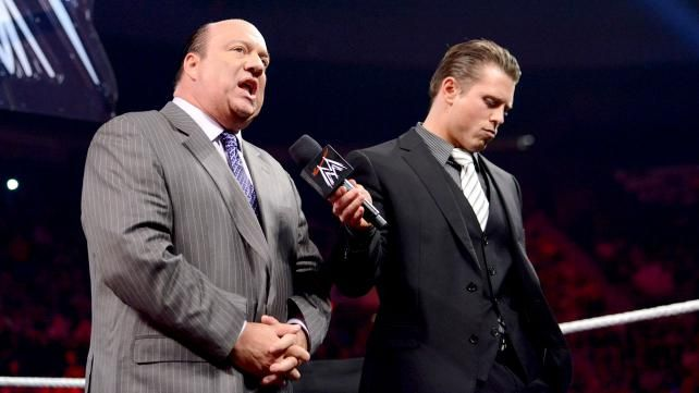 Image result for the miz and paul heyman