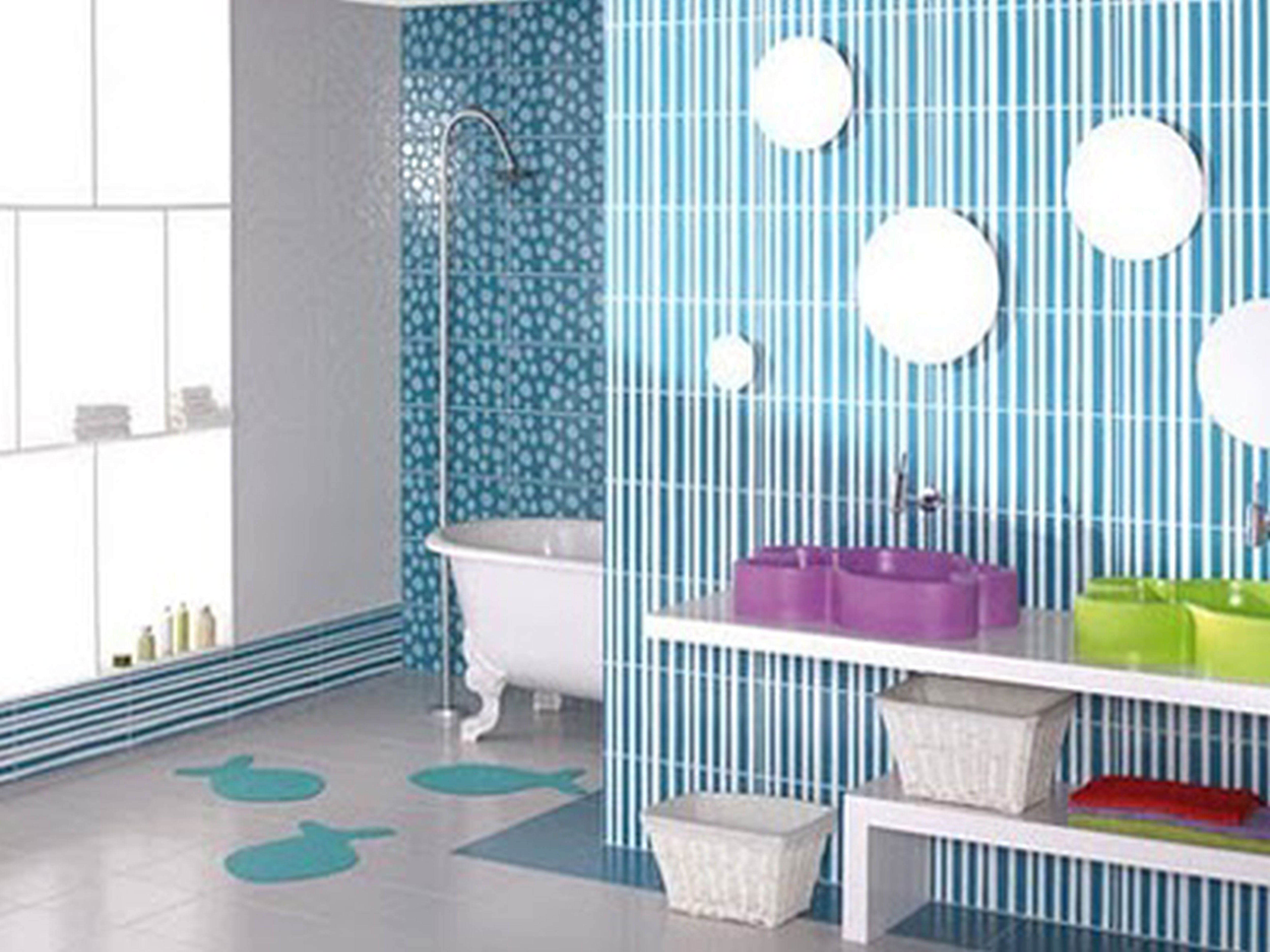 23+ unique and colorful kids bathroom ideas, furniture and other