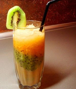 Image result for Kiwi, Orange and Apple Smoothie