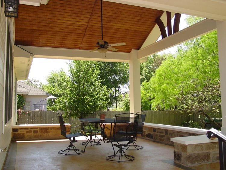 Covered Deck Ideas   The Covered Patio is Really an ... on Backyard Patio Extension Ideas id=46528