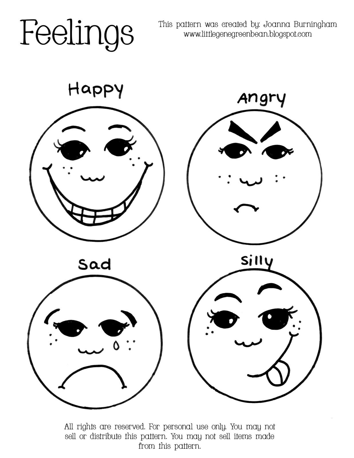 Emotions Printable