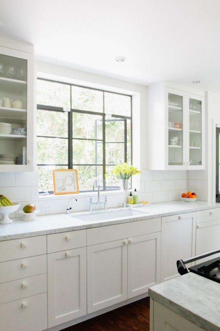 A New England Kitchen by Way of LA  Kitchens House and Spaces