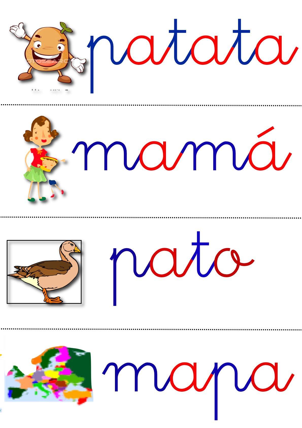 Vocabulario Letras Hablar Leer Lenguaje Lectura