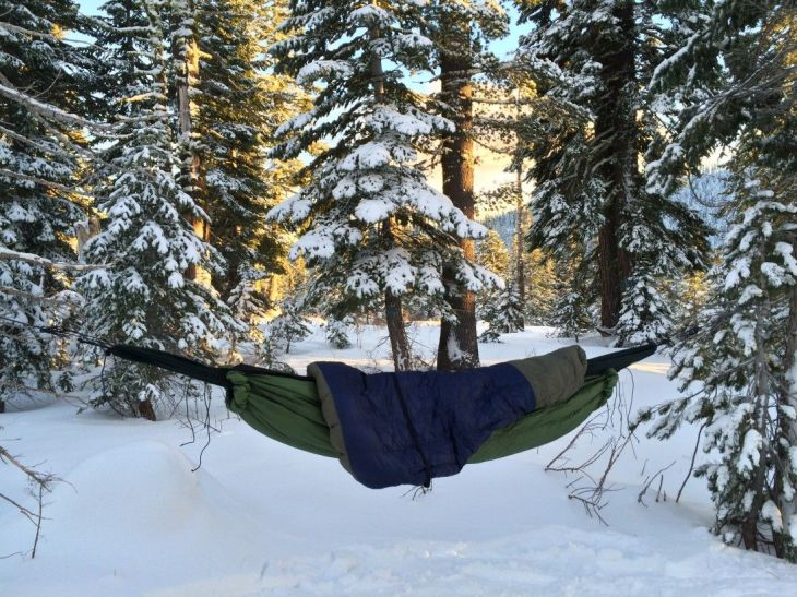 staying warm hammock camping tip battling cold butt syndrome