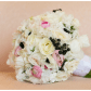 Wedding bouquets without roses  Chanel Inspired Wedding Shoot WilderMansion VisionsEventStudio
