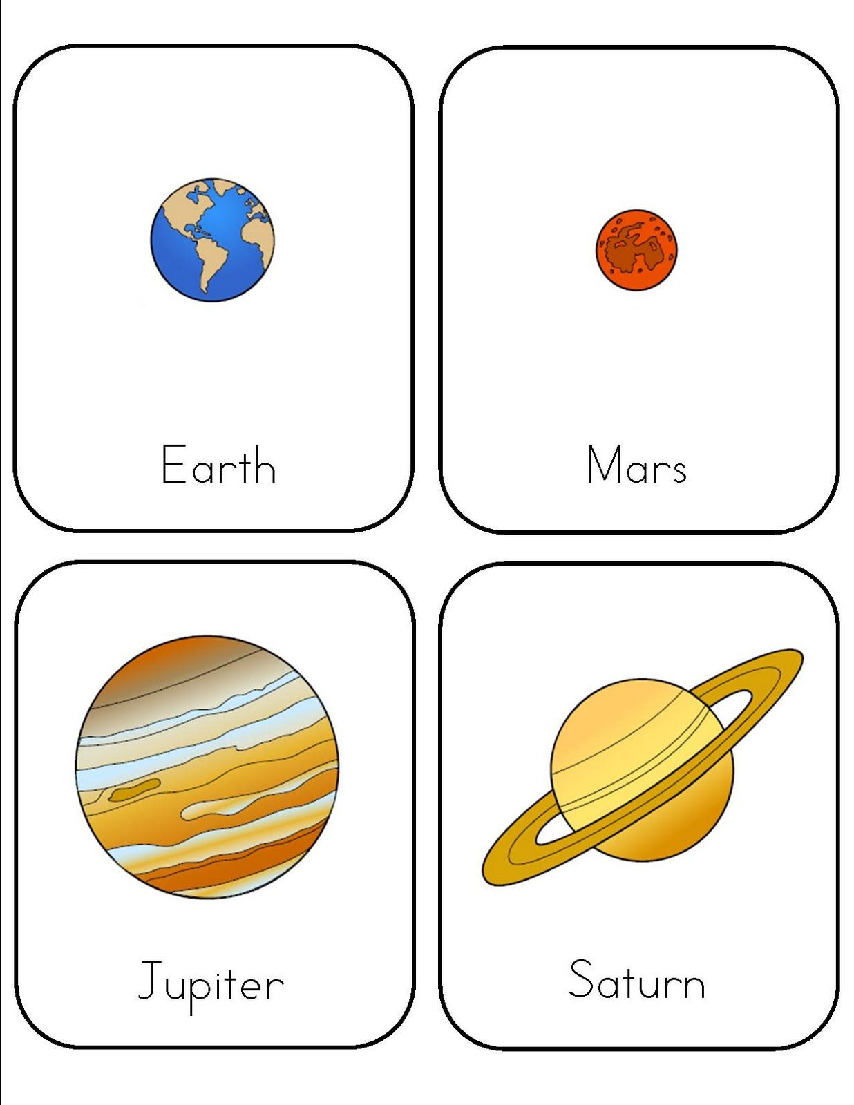 Galaxy Science Worksheet For Preschool
