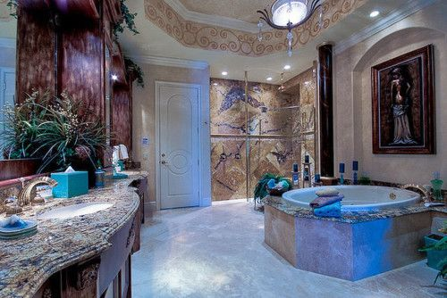 Fancy Washroom - Marble
