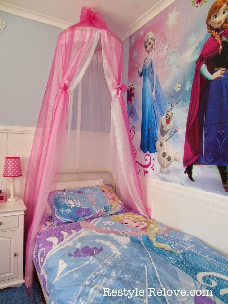 frozen bedroom diy, frozen bedrooms, elsa bedroom, frozen girls