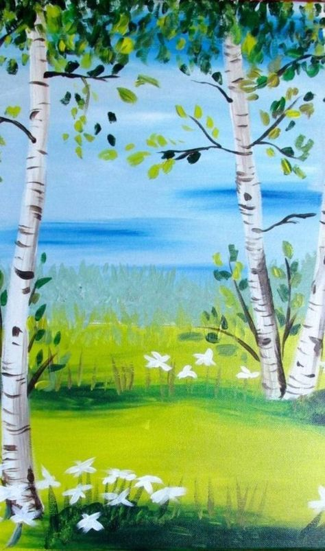 90 Easy Acrylic Painting Ideas For Beginners To Try Easy