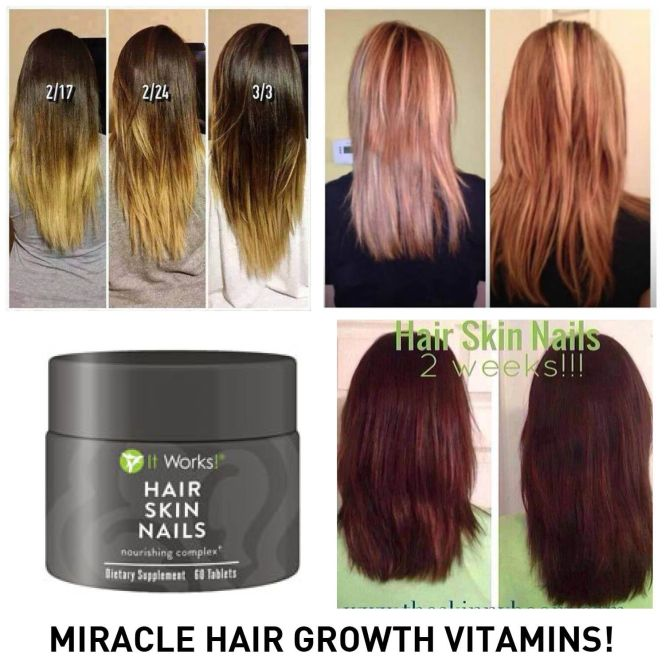 It Works Hair Skin Nails Review Plant Based Vitamin Mineral