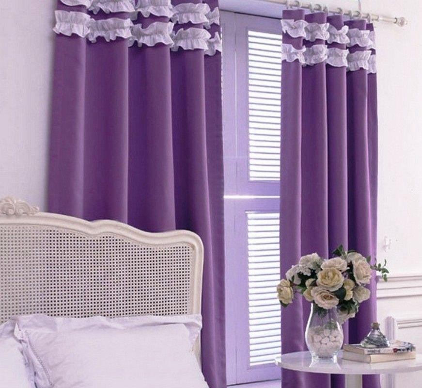 purple bedroom curtain ideas | house & home | pinterest | purple