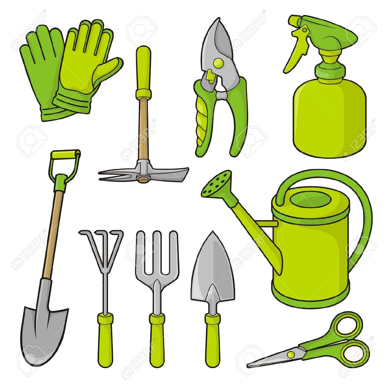 Gardening Tools Clip Art Free You Can Find Out More