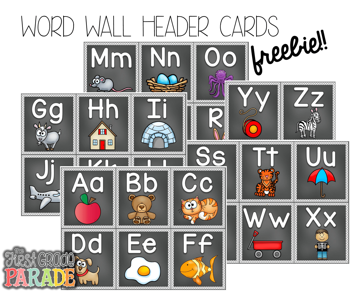 Free Word Wall Header Cards Follow For Free Too Neat Not To Keep Teaching Tools Amp Other