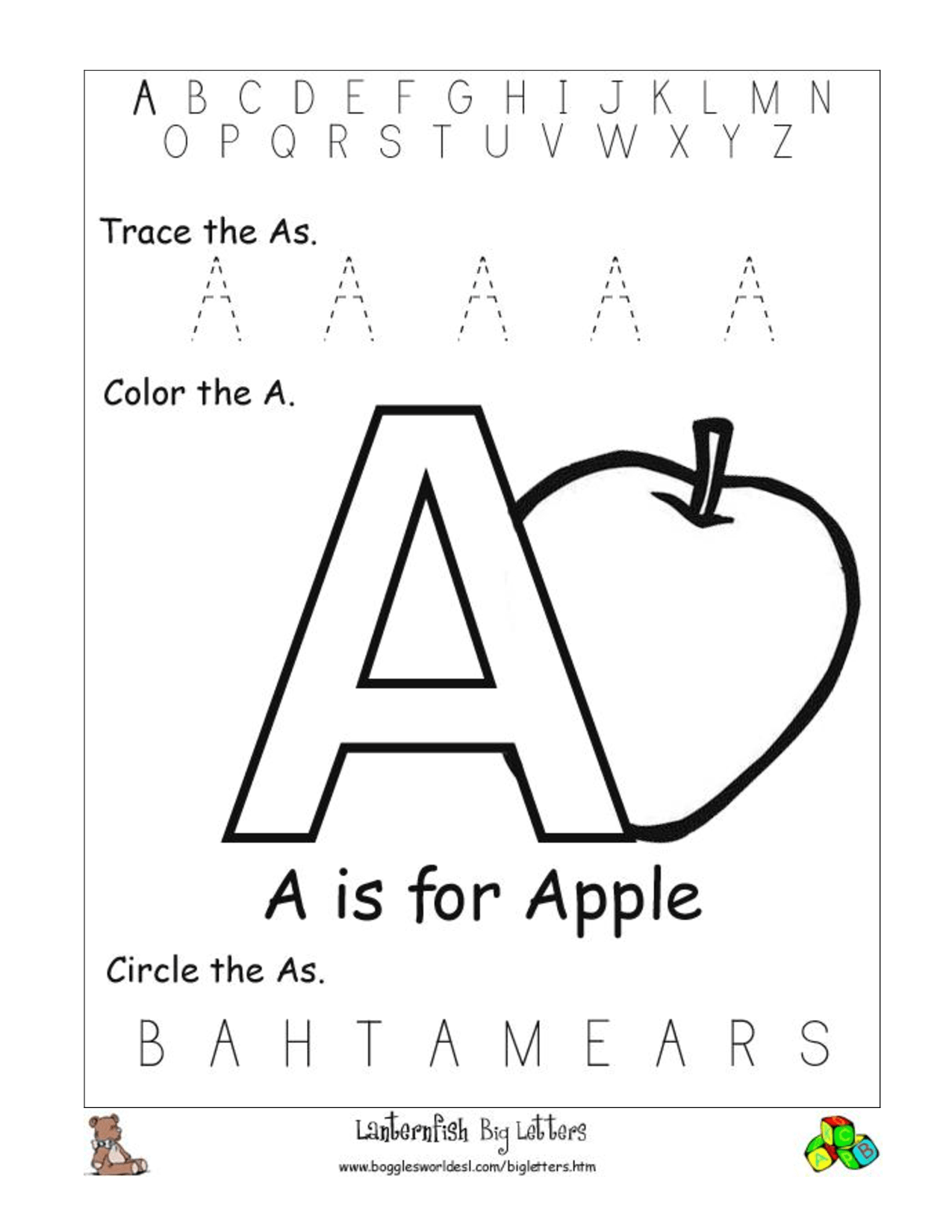 Letter A Worksheets Hd Wallpapers Download Free Letter A Worksheets Tumblr