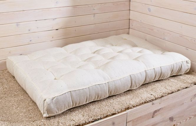 Wool Filled Mini Crib Mattress 4 Thick Cover By Thehomeofwool