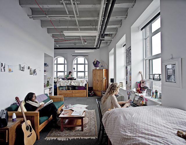 Dorm Room In The Taubman Center Dorm Room