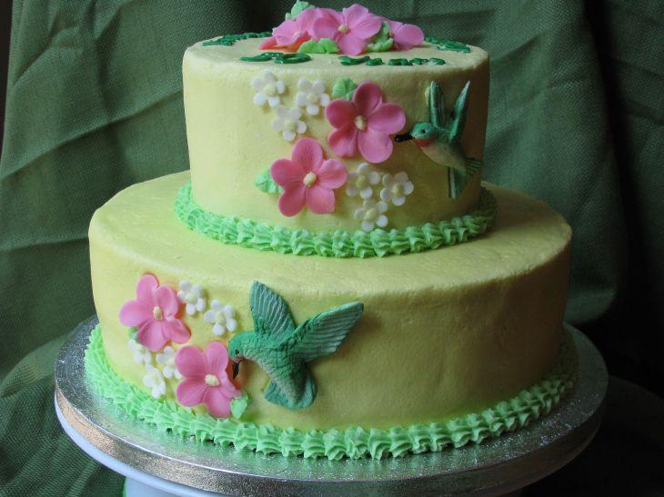 Hummingbird Anniversary Cake  Cakes  Pinterest  Hummingbird Cake