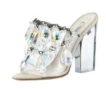Prada S Chandelier Sandals The It Shoes Of Season Women