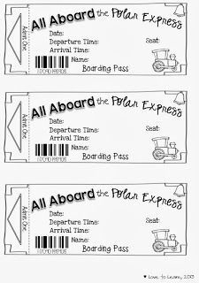 Polar express ticket template free download maxwellsz